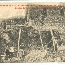 Postales: (PS-60852)POSTAL DEL SALTO DE EL RUN-AVENIDA DEL ESERA DEL 26 DE OCTUBRE DE 1913. Lote 170266772