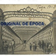 Postales: (PS-60975)POSTAL FOTOGRAFICA DE FRAGA-PUENTE. Lote 170446884