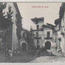 Postales: CASTEJON DE SOS . EDICIÓN E. BIELSA. CLICHE M. ARRIBAS. HUESCA . Lote 170504680
