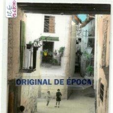 Postales: (PS-61040)POSTAL DE CRETAS(TERUEL)-VISTA PARCIAL.EXCLUSIVAS NIEVES CARCELLER. Lote 170864345