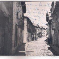 Postales: POSTAL DE LUESIA - CALLE DE JOSE ANTONIO.. Lote 170935080