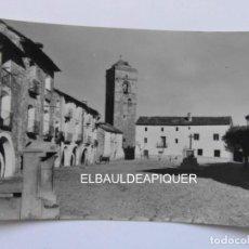 Postales: AINSA 6 IGLESIA Y PLAZA DE ESPAÑA. EDICIONES SICILIA. ESCRITA EL REVERSO. CCTT. Lote 170975139