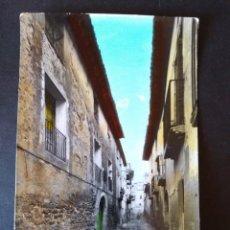 Postales: BINACED HUESCA CALLE CONSTANCIA. Lote 171457269