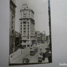 Postales: POSTAL ZARAGOZA - CALLE COSO EDIF.LA ADRIATICA CM .CIRCULADA. Lote 171642348