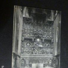 Postales: ZARAGOZA ALTAR MAYOR DE LA SEO. Lote 172017443