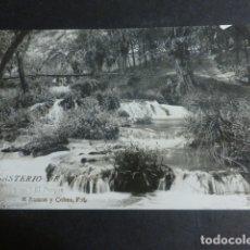 Postales: MONASTERIO DE PIEDRA ZARAGOZA EL PARQUE. Lote 172017593