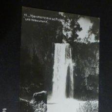Postales: MONASTERIO DE PIEDRA ZARAGOZA LAS REQUIJADAS. Lote 172017627