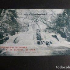 Postales: MONASTERIO DE PIEDRA ZARAGOZA CASCADA EL VADO. Lote 172017684
