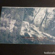 Postales: MONASTERIO DE PIEDRA ZARAGOZA CASCADA FRESNOS ALTOS. Lote 172017729