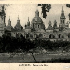 Postales: ZARAGOZA - TEMPLO DEL PILAR - 9 X 14 CMS. Lote 172156727