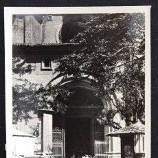 Postales: ZARAGOZA, ENTRADA AL TEMPLO DEL PILAR - EDITA GM - SIN CIRCULAR. Lote 172164464