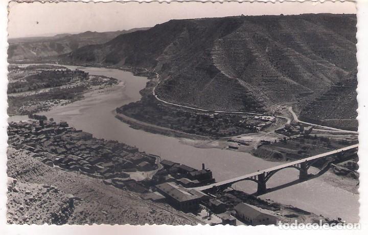 POSTAL DE MEQUINENZA - ZARAGOZA . (Postales - España - Aragón Moderna (desde 1.940))