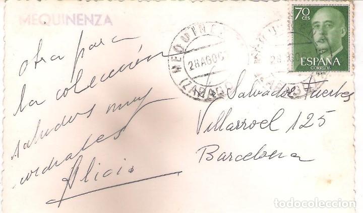 Postales: POSTAL DE MEQUINENZA - ZARAGOZA . - Foto 2 - 172566919