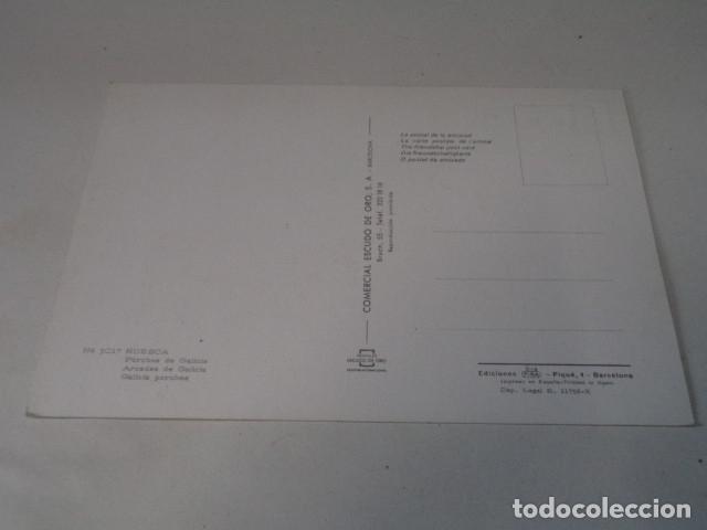Postales: HUESCA - POSTAL HUESCA - PORCHES DE GALICIA - Foto 2 - 172781885
