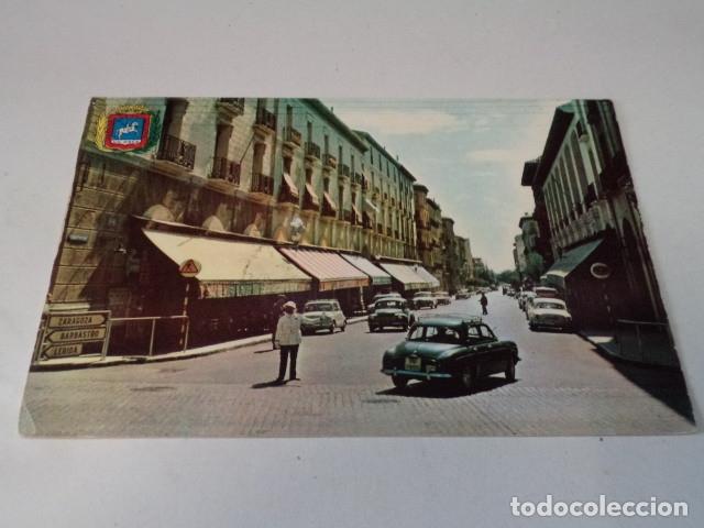 HUESCA - POSTAL HUESCA - COSO BAJO (Postales - España - Aragón Moderna (desde 1.940))