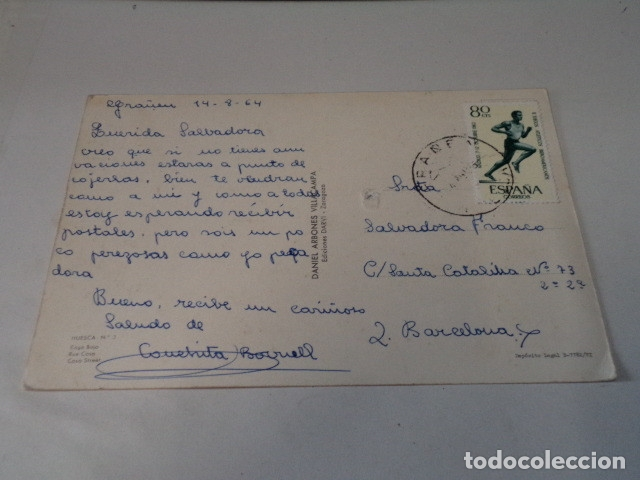 Postales: HUESCA - POSTAL HUESCA - COSO BAJO - Foto 2 - 172782335