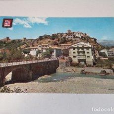 Postales: HUESCA - POSTAL AÍNSA - VISTA PARCIAL - RÍO ARA. Lote 172783253