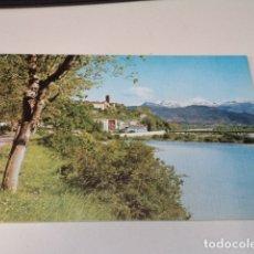 Postales: HUESCA - POSTAL AÍNSA - VISTA PARCIAL Y RÍO CINCA. Lote 172783982