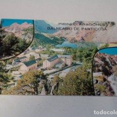 Postales: HUESCA - POSTAL BALNEARIO DE PANTICOSA. Lote 172822739