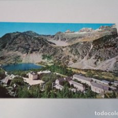 Postales: HUESCA - POSTAL BALNEARIO DE PANTICOSA - VISTA GENERAL, AL FONDO CARMONEGRO. Lote 172829147