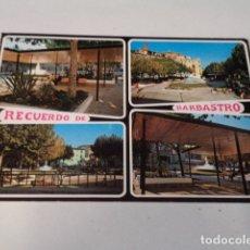 Postales: HUESCA - POSTAL BARBASTRO - PLAZA ESTACIÓN DE AUTOBUSES. Lote 172829479