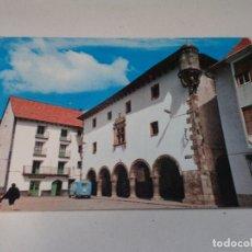 Postales: HUESCA - POSTAL BIELSA - PLAZA Y AYUNTAMIENTO. Lote 172843665