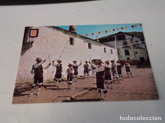 HUESCA - POSTAL JACETANIA TÍPICA - DANZANTES DE YEBRA (Postales - España - Aragón Moderna (desde 1.940))