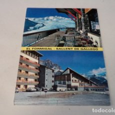 Postales: HUESCA - POSTAL SALLENT DE GÁLLEGO - ESTACIÓN INVERNAL DEL FORMIGAL. Lote 173399159