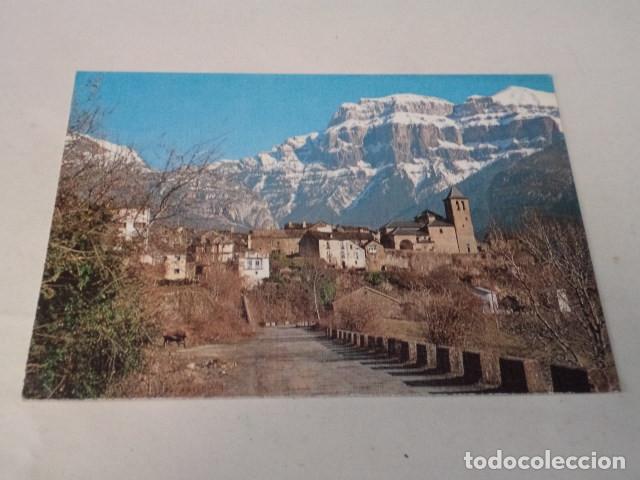 HUESCA - POSTAL TORLA - AL FONDO MONDARRUEGO (Postales - España - Aragón Moderna (desde 1.940))