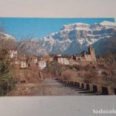 Postales: HUESCA - POSTAL TORLA - AL FONDO MONDARRUEGO. Lote 173403718