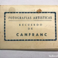Postales: CANFRANC (HUESCA) DESPLEGABLE FOTOGRAFÍAS ARTÍSTICAS RECUERDO DE CANFRANC, EDITA: ED. SICILIA. Lote 173403724