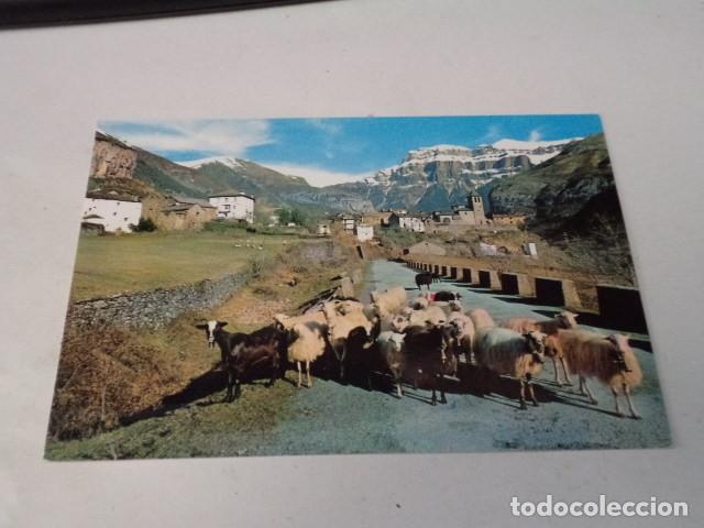 HUESCA - POSTAL TORLA - VISTA GENERAL Y MONDARRUEGO AL FONDO (Postales - España - Aragón Moderna (desde 1.940))