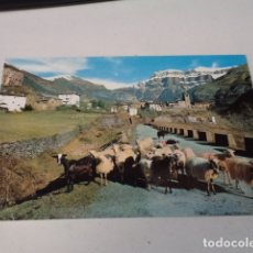 Postales: HUESCA - POSTAL TORLA - VISTA GENERAL Y MONDARRUEGO AL FONDO. Lote 173404484