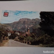 Postales: HUESCA - POSTAL TORLA - VISTA PARCIAL - AL FONDO MONDARRUEGO. Lote 173404535