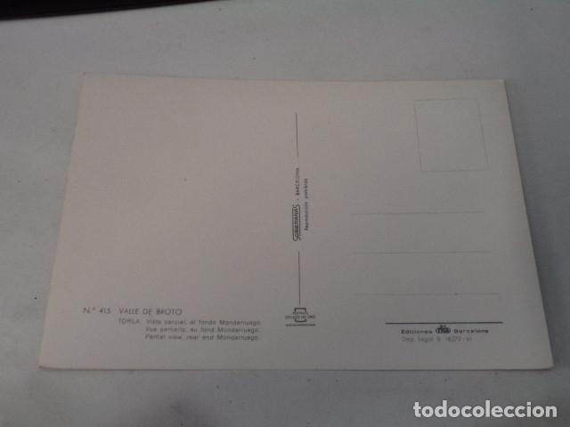 Postales: HUESCA - POSTAL TORLA - VISTA PARCIAL - AL FONDO MONDARRUEGO - Foto 2 - 173404535