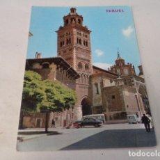 Postales: TERUEL - POSTAL TERUEL - LA CATEDRAL. Lote 173405945