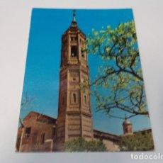 Postales: ZARAGOZA - POSTAL CALATAYUD - TORRE DE SAN ANDRÉS. Lote 173564872