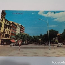 Postales: ZARAGOZA - POSTAL CALATAYUD - PASEO CALVO SOTELO. Lote 173565093
