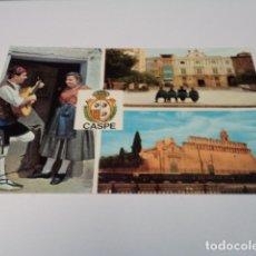 Postales: ZARAGOZA - POSTAL CASPE . Lote 173579522