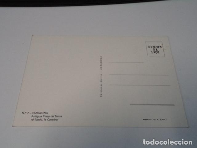 Postales: ZARAGOZA - POSTAL TARAZONA - ANTIGUA PLAZA DE TOROS - Foto 2 - 173579967