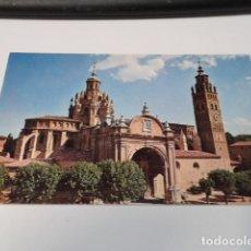Postales: ZARAGOZA - POSTAL TARAZONA - FACHADA CATEDRAL. Lote 173580047