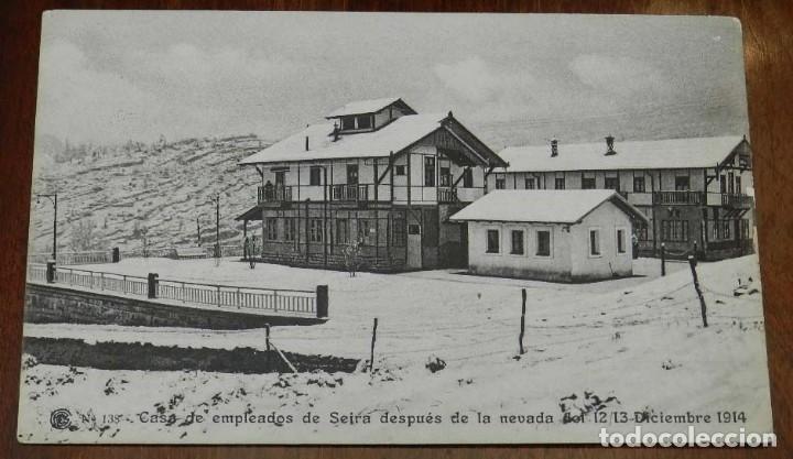 POSTAL DE CATALANA DE GAS Y ELECTRICIDAD S.A., OBRAS DEL SALTO DE EL RUN (HUESCA) Nº 138, CASA DE EM (Postales - España - Aragón Antigua (hasta 1939))
