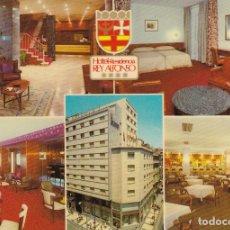 Postales: ZARAGOZA HOTEL REY ALFONSO ED. T G CANTIN . Lote 173650400