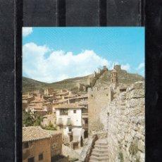 Postales: Nº 33 ALBARRACIN. CIUDAD HISTÓRICA Y MONUMENTAL. MURALLAS Y PORTAL DEL AGUA. Lote 174134479
