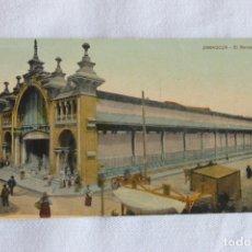 Postales: POSTAL EL MERCADO, ZARAGOZA, 1909. Lote 174221857