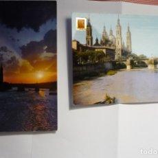 Postales: LOTE POSTALES ZARAGOZA -PILAR ESCRITAS CM. Lote 174387062