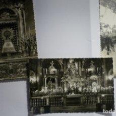 Postales: LOTE POSTALES ZARAGOZA -PILAR ESCRITAS Y CIRCULADAS CM. Lote 174387264