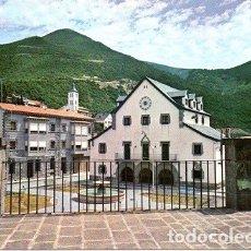 Postales: BIESCAS - 2 AYUNTAIETO Y PLAZA MAYOR. Lote 174468334