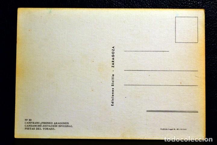 Postales: PISTAS DEL TOBAZO - CANDANCHÚ - HUESCA - Foto 2 - 174512627