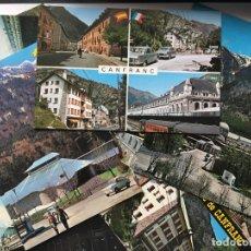 Postales: CANFRANC HUESCA - LOTE DE 12 POSTALES DISTINTAS. Lote 174523250